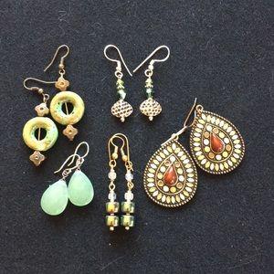 Bundle of 5 Fashion Earrings